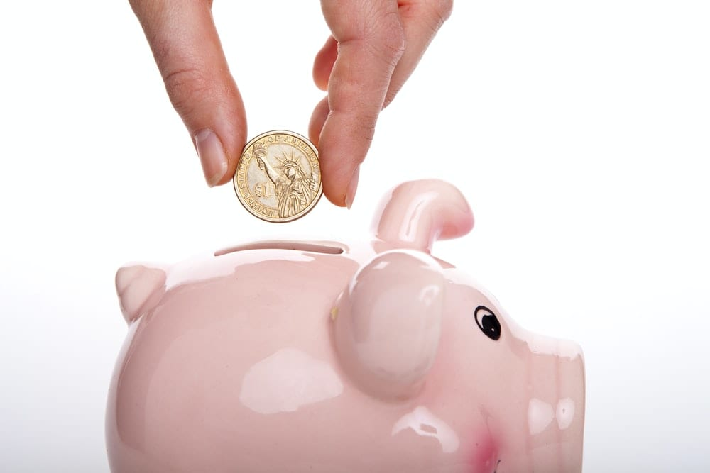 reserve money in piggybank