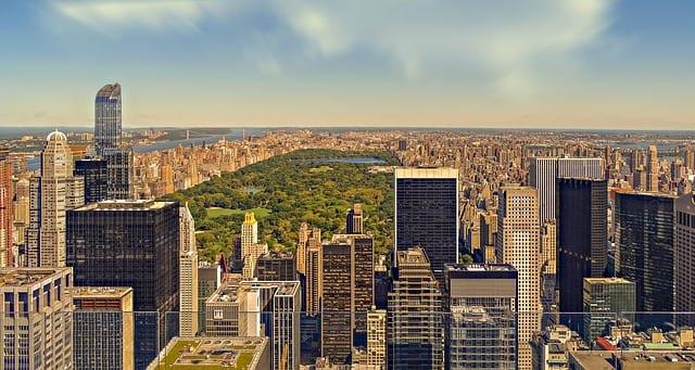 New York City neighborhoods around Central Park