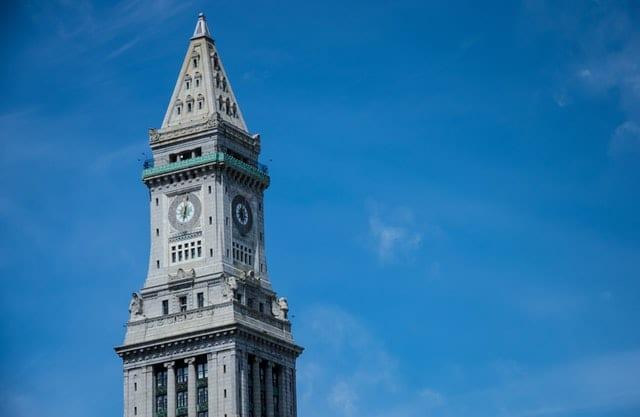 Boston clock tower.