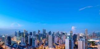 photo of the Philippine city skyline