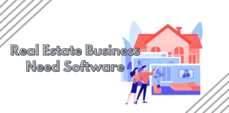 Why does a real estate business need software